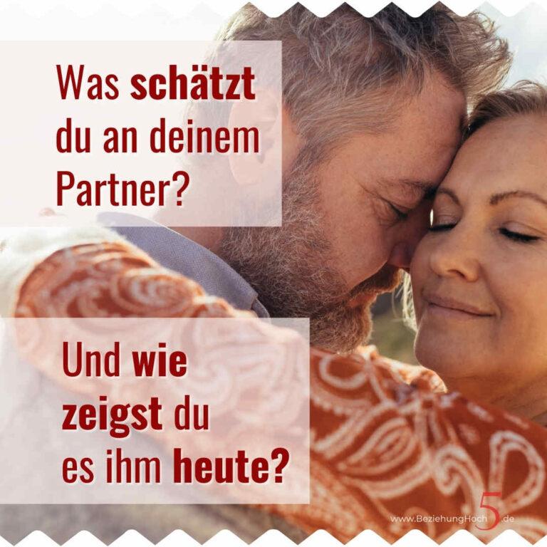 Den Partner wertschätzen