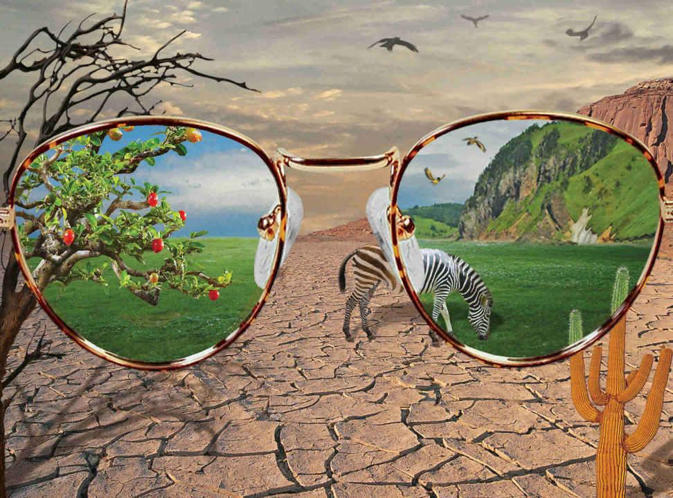 Sehe ich die Realität oder eine Illusion?